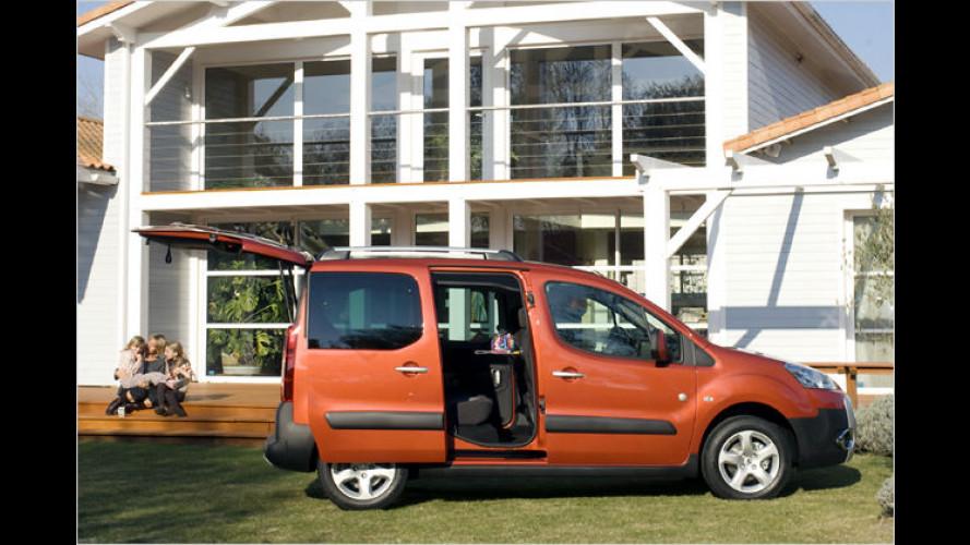 Peugeot legt Sondermodell Partner Tepee Family auf