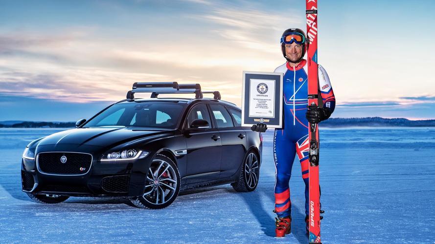 Un record du monde pour la Jaguar XF Sportbrake