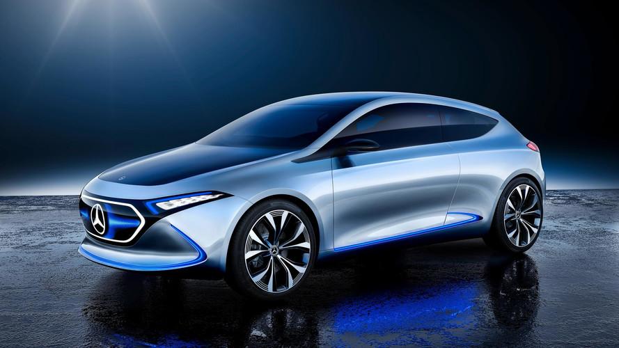 Mercedes elettrica, 500 milioni di euro per produrre la compatta