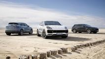 2018 Porsche Cayenne Turbo official image