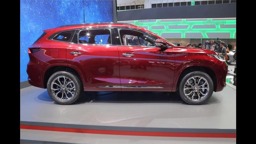 Urbanes SUV mit Plug-in-Hybrid-Antrieb aus China