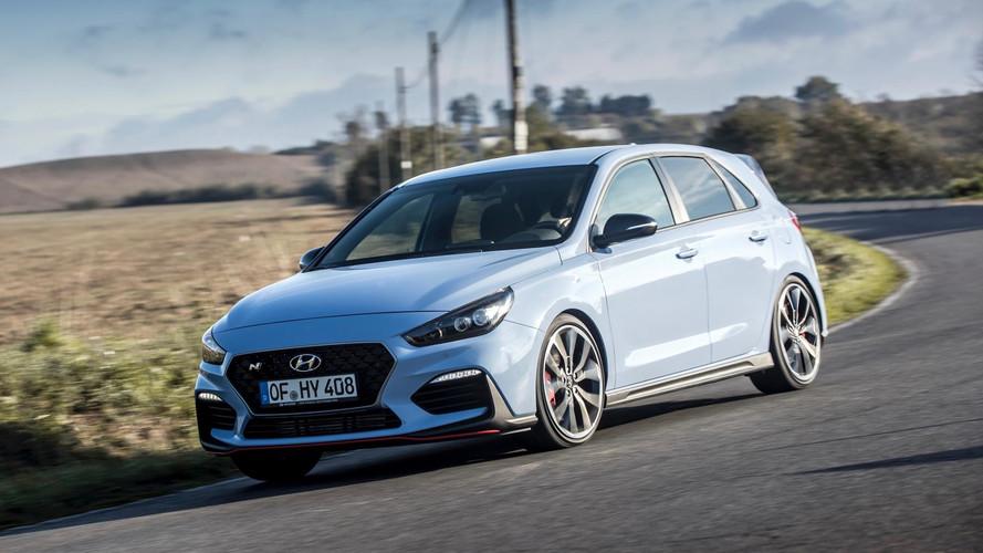 Hyundai i30 N'in 90 km/s'den 250 km/s'ye hızlanmasını izleyin
