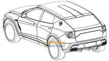 Lotus SUV leaked patent images
