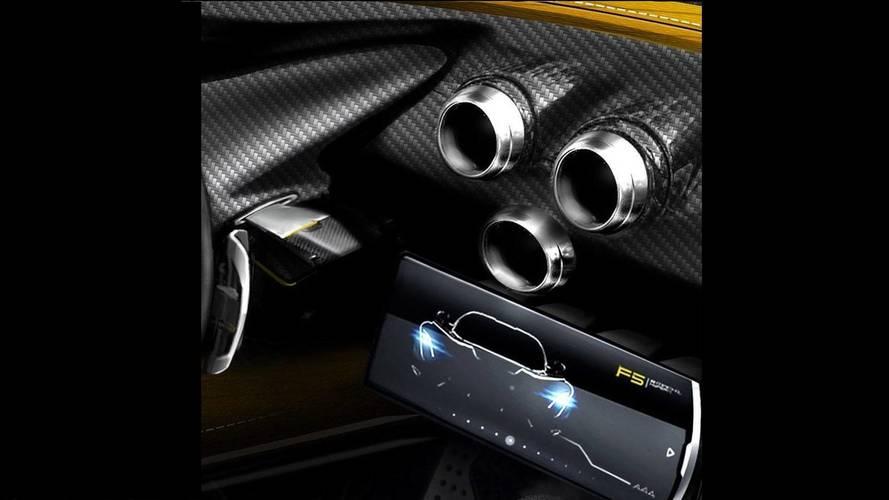 Hennessey Venom F5 karbon fiber ön konsol ile gelecek