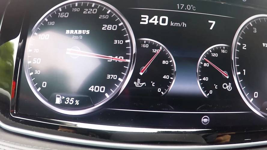 Mercedes S65 Brabus Rocket 900 Hits 211 MPH In Less Than 2 Miles