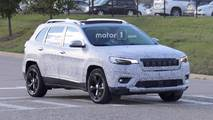 2018 Jeep Cherokee Headlights Spy Photos