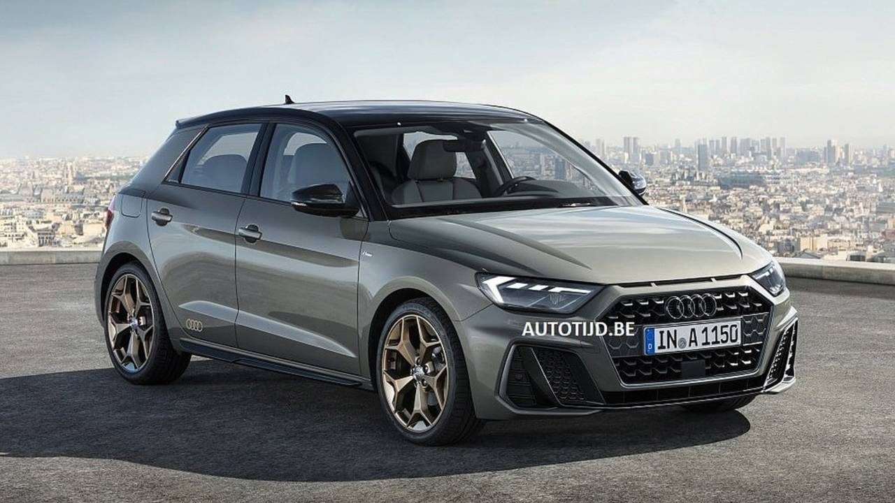 Audi A1 New Model >> 2019 Audi A1 Sportback leaked official image | Motor1.com Photos
