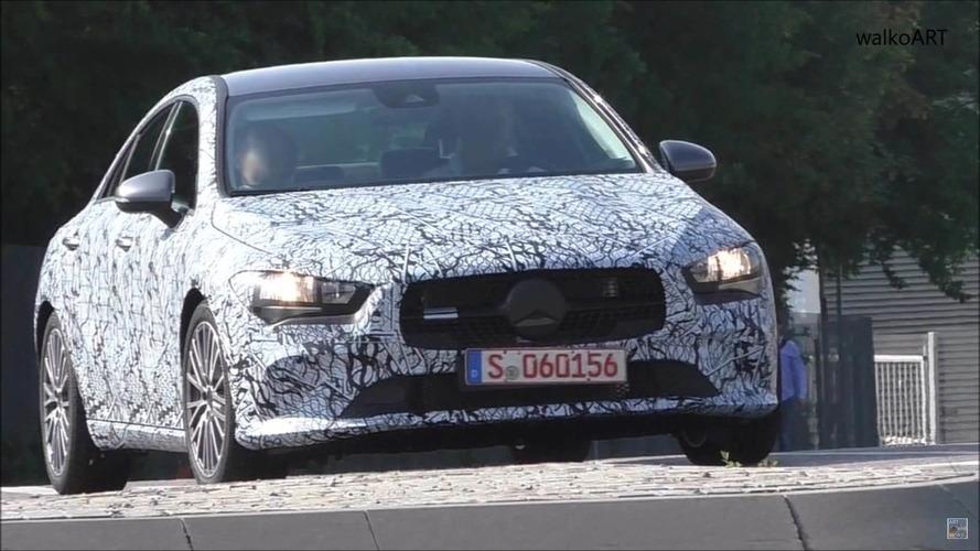 Mercedes CLA yine kamuflajlı olarak görüntülendi