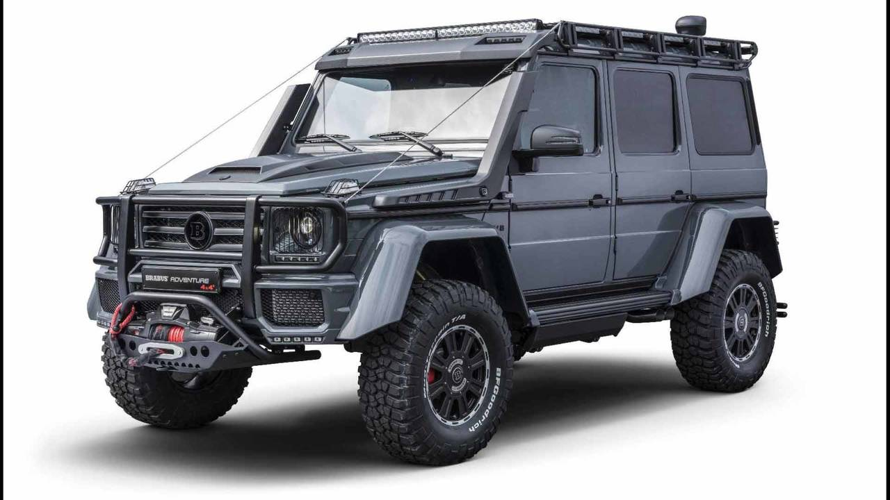 brabus adventure 4x4 il classe g inarrestabile italia. Black Bedroom Furniture Sets. Home Design Ideas