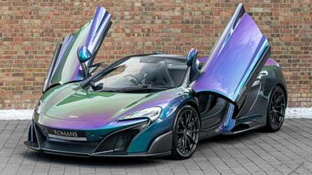 The Paint On This McLaren 675LT Costs More Than A New Civic Type R