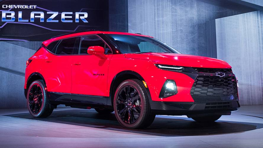 2018 Chevy Blazer >> 2019 Chevy Blazer Revealed As A Sporty Crossover
