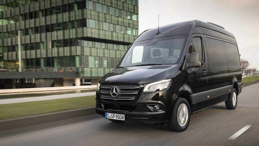 2019 mercedes benz sprinter first drive delivering. Black Bedroom Furniture Sets. Home Design Ideas