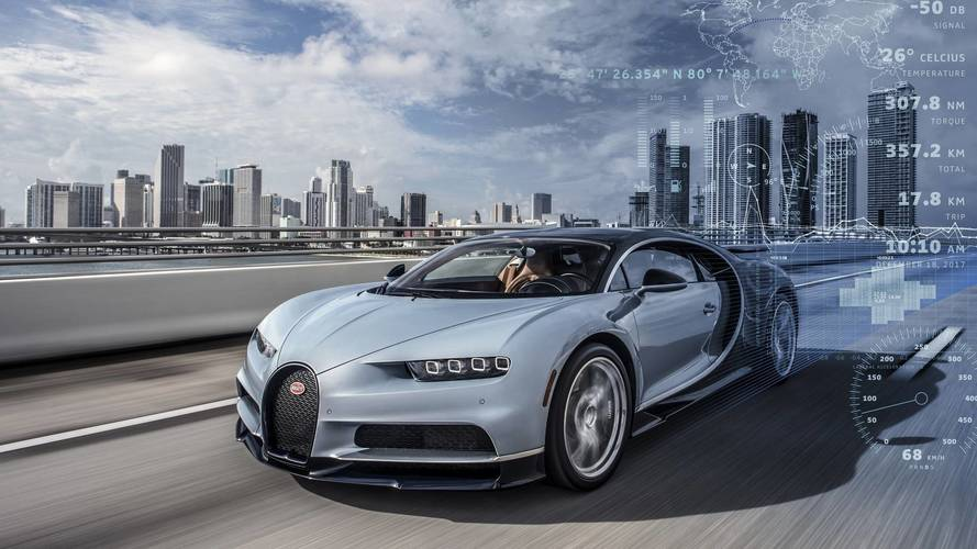 Bugatti Knows If Your Chiron's Tires Are Not Properly Inflated
