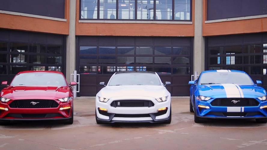 2018 Ford Mustang EcoBoost'un yeni egzozuna kulak verin