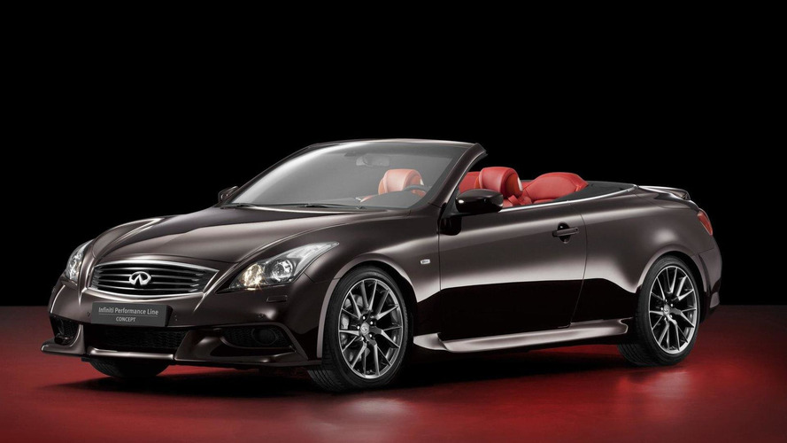 2013 IPL G Convertible announced by Infiniti