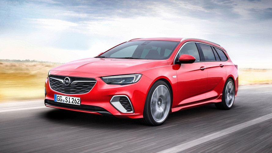 Opel Insignia GSi Sports Tourer Debuts With Biturbodiesel Engine