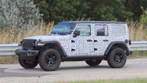 2018 Jeep Wrangler Rubicon Spy Photos