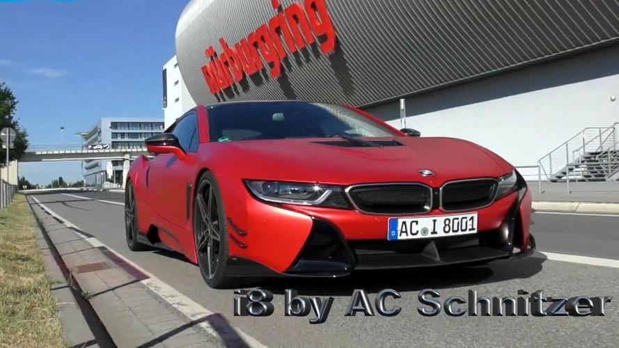 AC Schnitzer-tuned BMW i8 Laps Nürburgring in 8:19