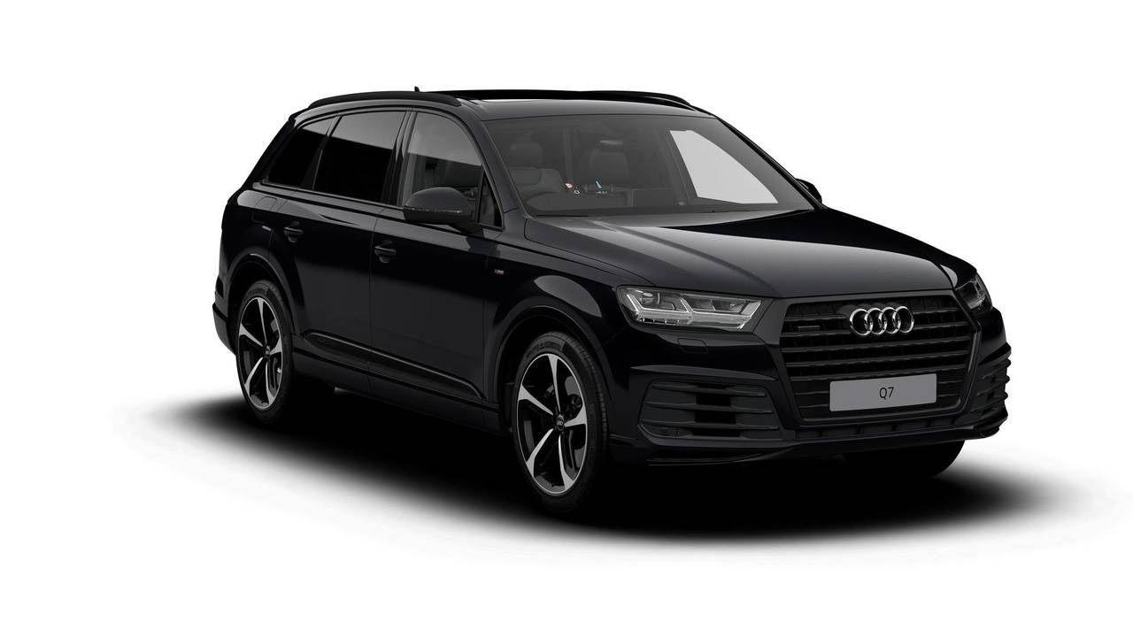 Audi Q7 Black and Vorsprung Editions
