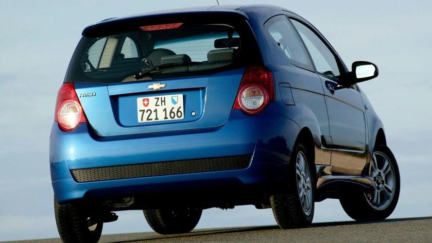Chevrolet Aveo 3-Door World Debut at Geneva