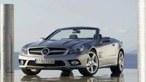 Mercedes SL Facelift