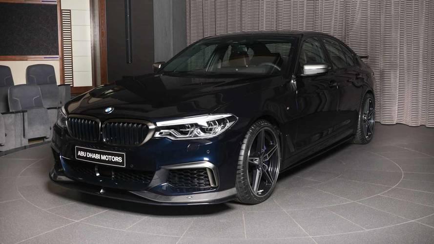 AC Schnitzer imzalı BMW M550i, M5'ten hırçın duruyor