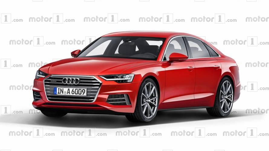 Renderképen a következő-generációs Audi A6