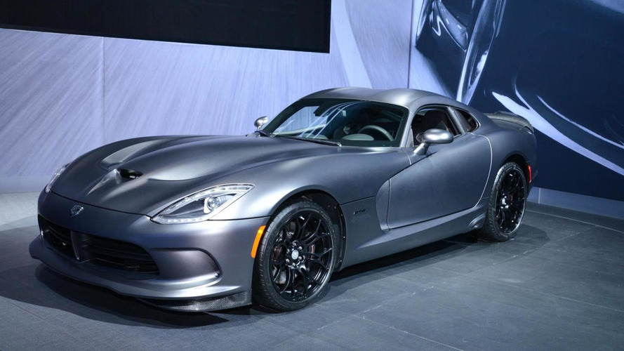 SRT Viper GTS Anodized Carbon Time Attack unveiled in New York