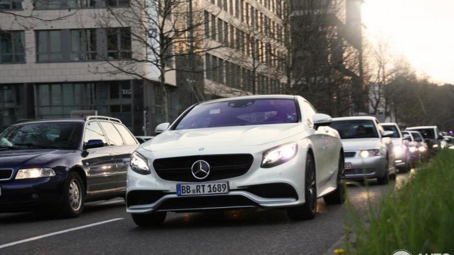 Mercedes-Benz S63 AMG Coupe shows its metal in Stuttgart