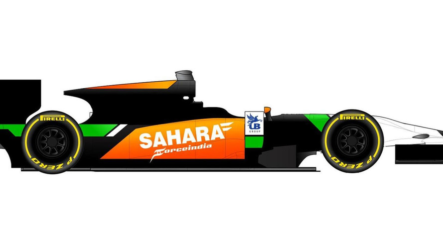 Force India colours to race in GP2