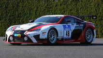 Lexus LFA for the Nürburgring 24 Hour endurance race