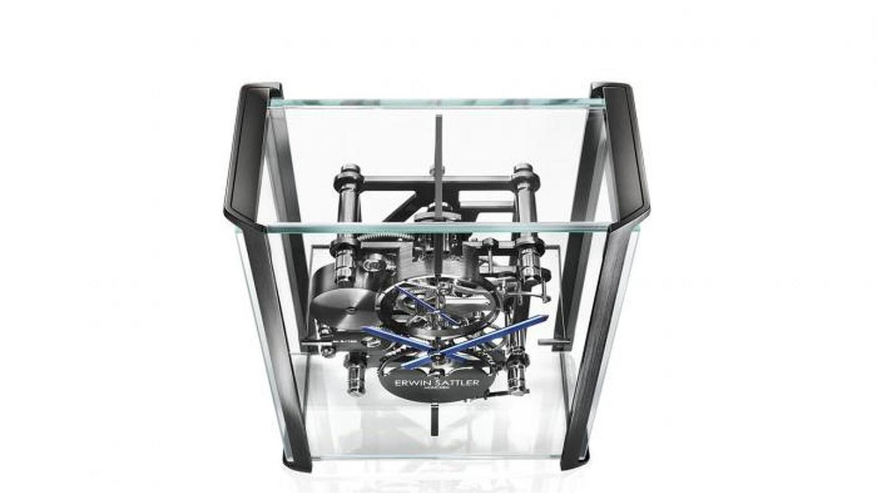 Erwin Sattler table clock by Audi design 24.09.2013