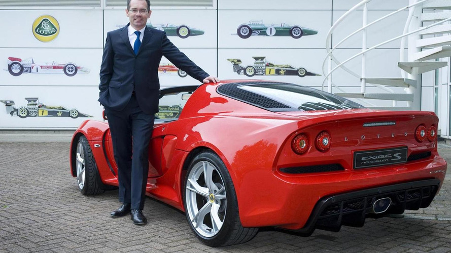 Lotus appoints new CEO, hints at a transformation plan