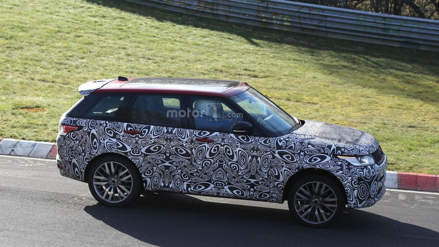 Makyajlı Range Rover SVR casus fotoğrafları