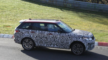 Range Rover SVR facelift spy photos