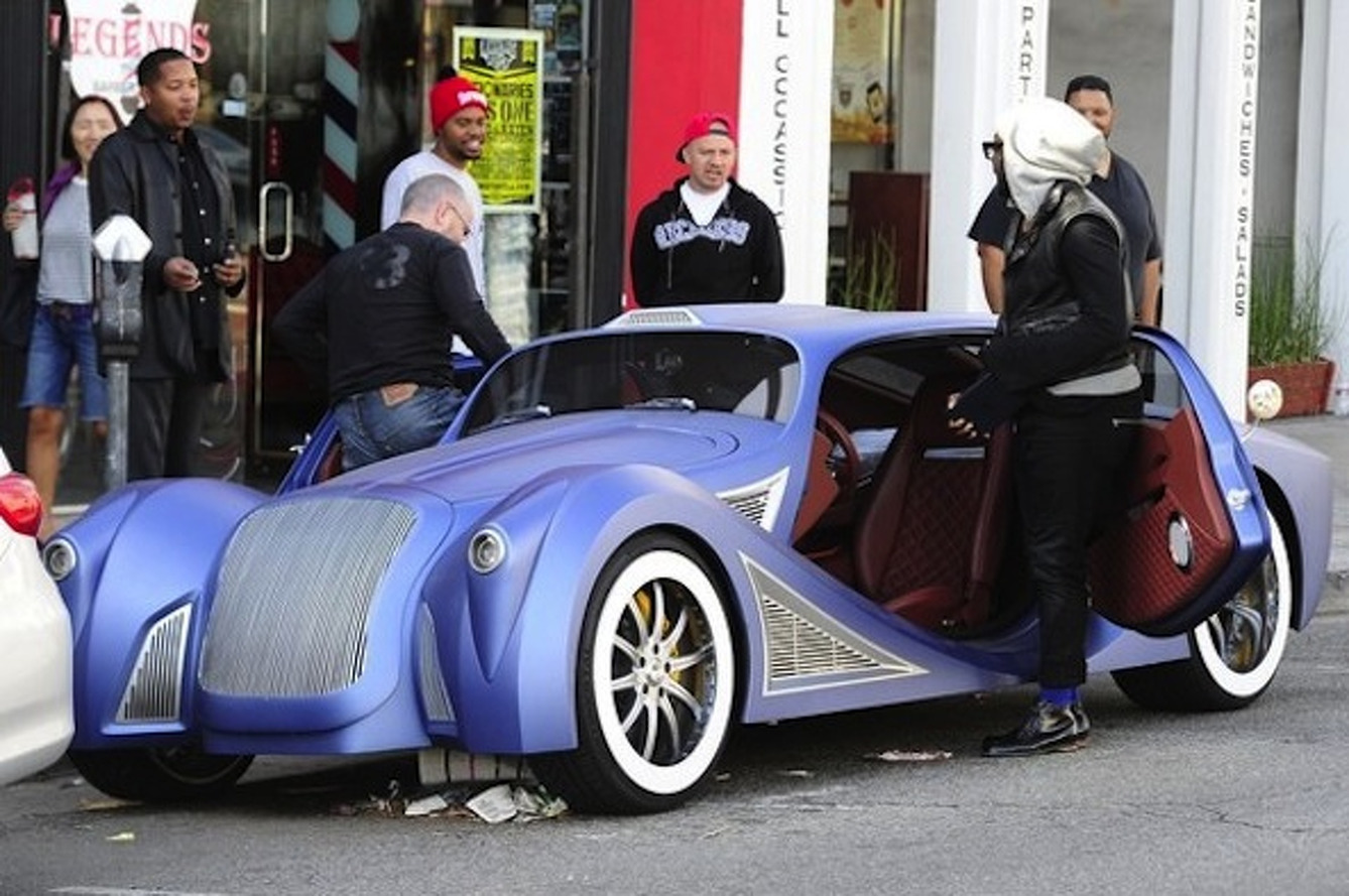 Will.I.Am Hits Hollywood in his Insane $900,000 Custom Car