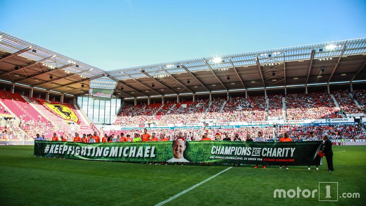 Transparent for Michael Schumacher
