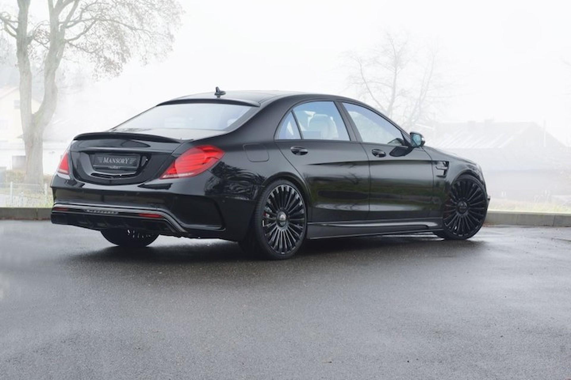 Mansory Built a Monster 1,000HP Mercedes S-Class