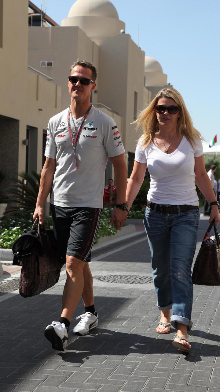 Michael Schumacher and wife Corina Schumacher / XPB