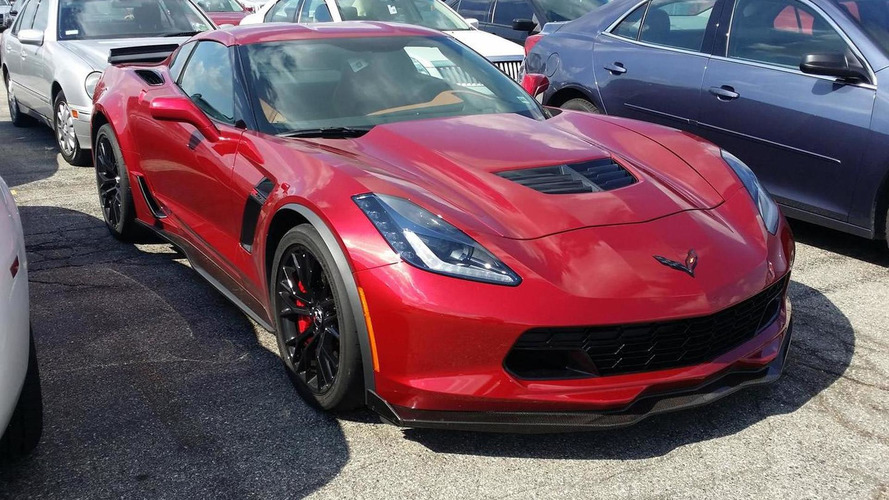 2015 Chevrolet Corvete Z06 spotted in the metal