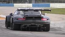 Porsche 911 RSR arka bölüm