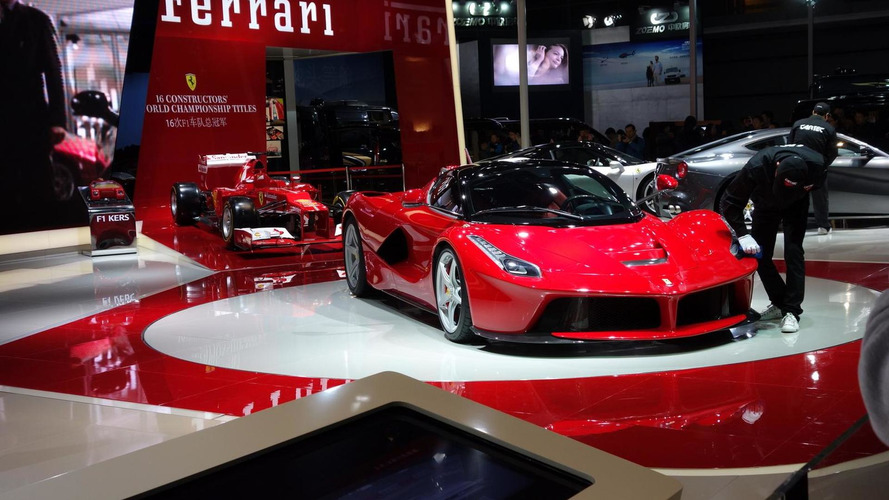 Marchionne confirms LaFerrari Spider and denies new Dino