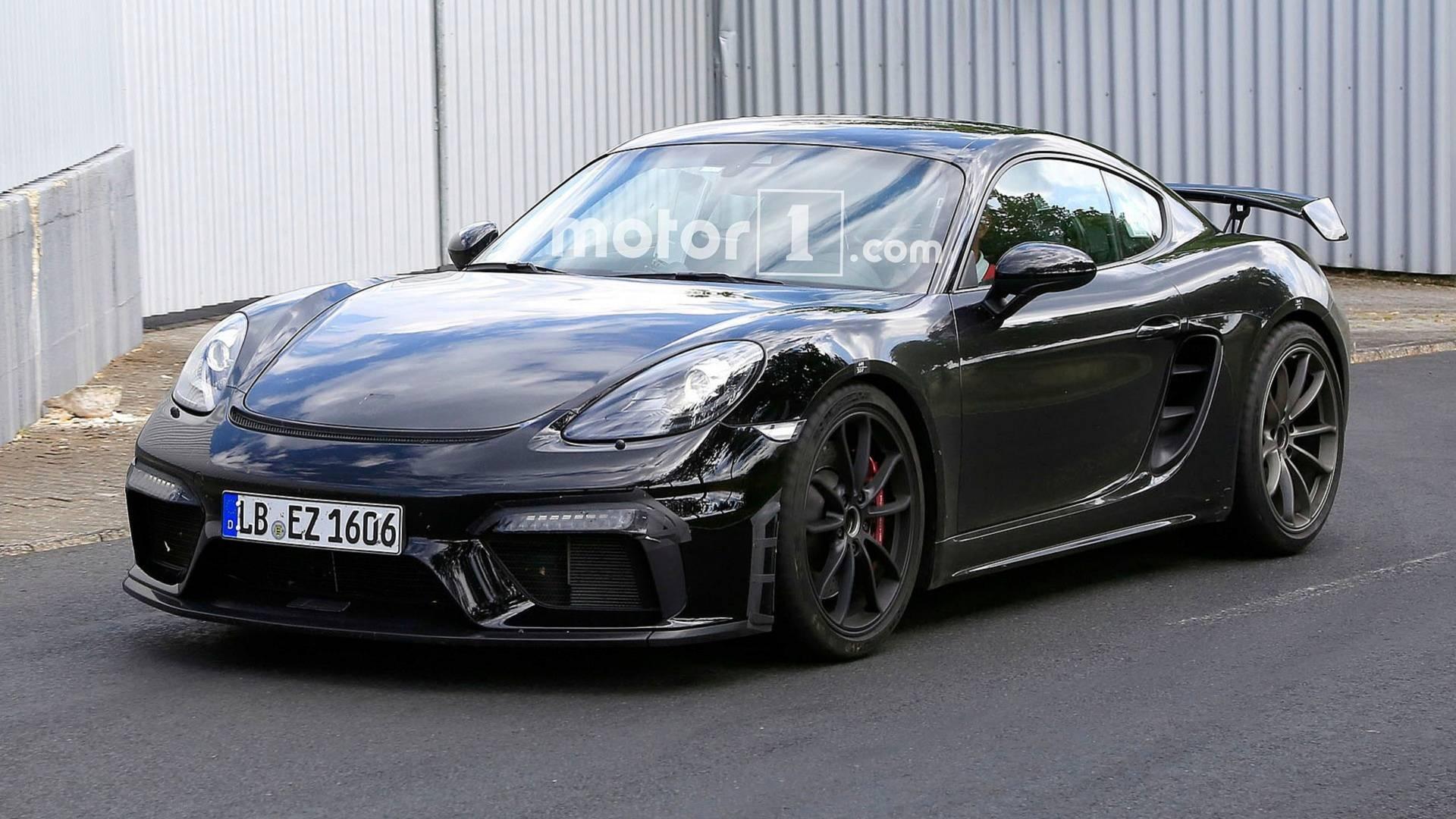 2016 - [Porsche] 718 Boxster & 718 Cayman [982] - Page 7 2019-porsche-718-cayman-gt4-spy-photo