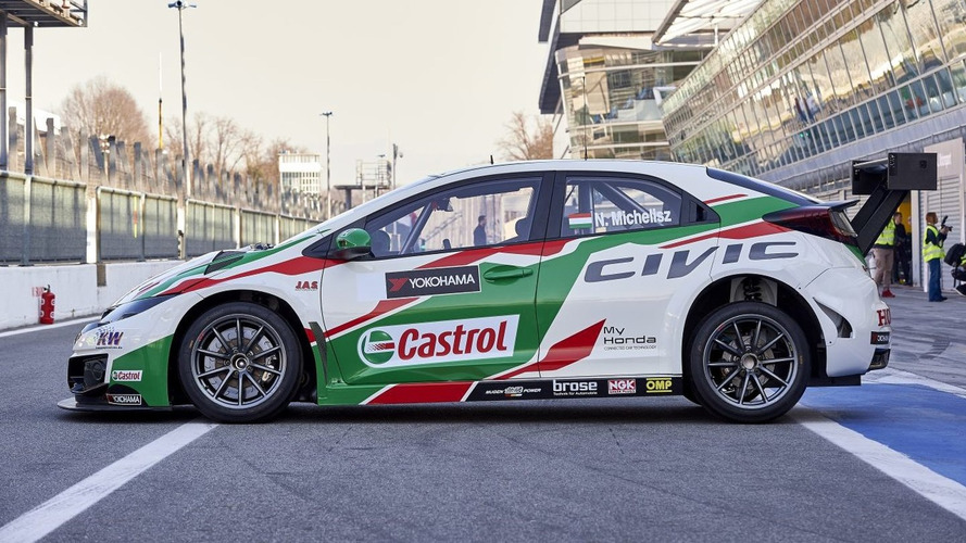 Honda Civic WTCC 2017 2