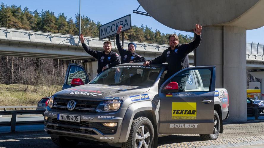 De Dakar a Moscú en poco más de tres días