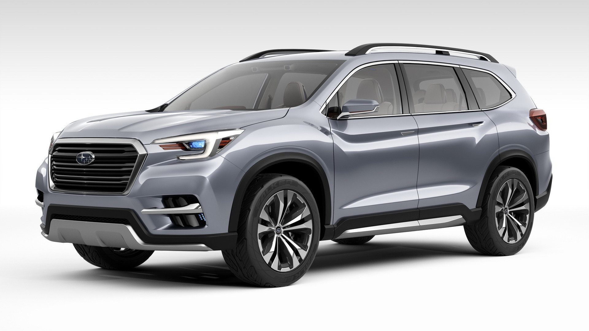 Model Subaru Ascent Shown More ProductionReady In NY