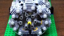 Lego 28 Cylinder Radial Engine