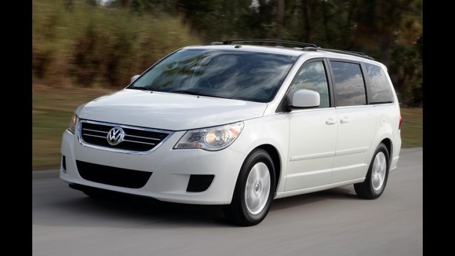 Após fracasso de vendas, VW encerra produção da Routan na América do Norte