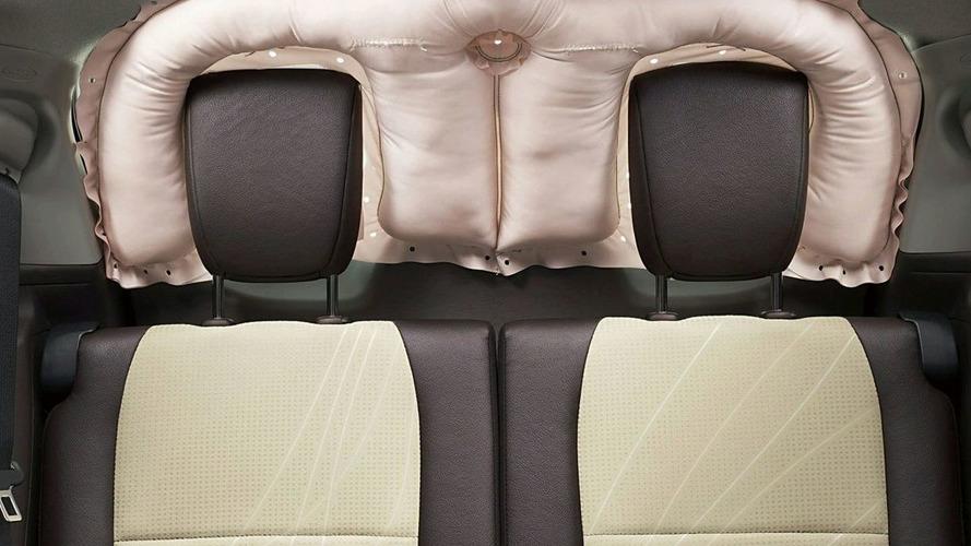 Toyota Develops World's First Rear Window Curtain Shield Airbag