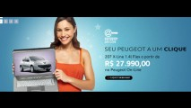 Peugeot inicia vendas pela internet do 207 X-Line WEB